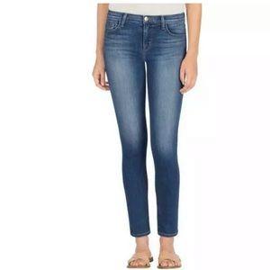 J Brand Mid Rise Skinny Jeans in Rad Wash 25